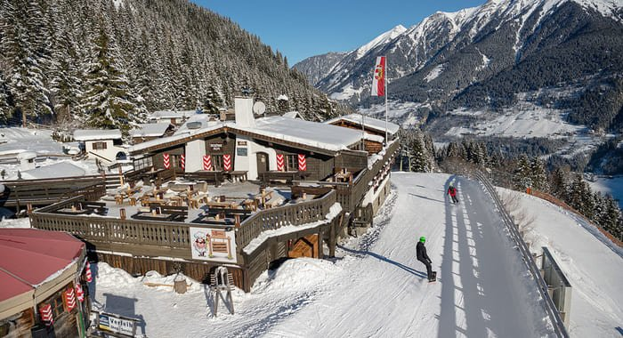 Restaurant Bellevue Alm in Bad Gastein