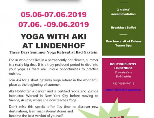 YOGA WITH AKI  AT LINDENHOF