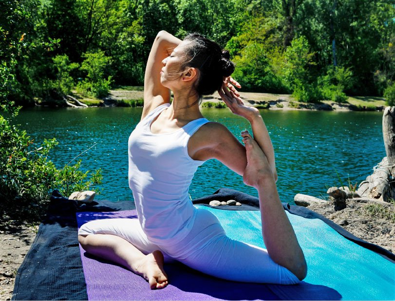 Sommer Yoga Entspannung in Bad Gastein